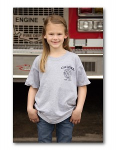 Kids Grey Short Sleeve