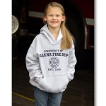 Kids Grey Hooded Sweatshirt