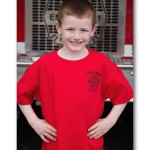 Kids Red Short Sleeve