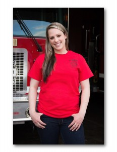 Adult Red Short Sleeve